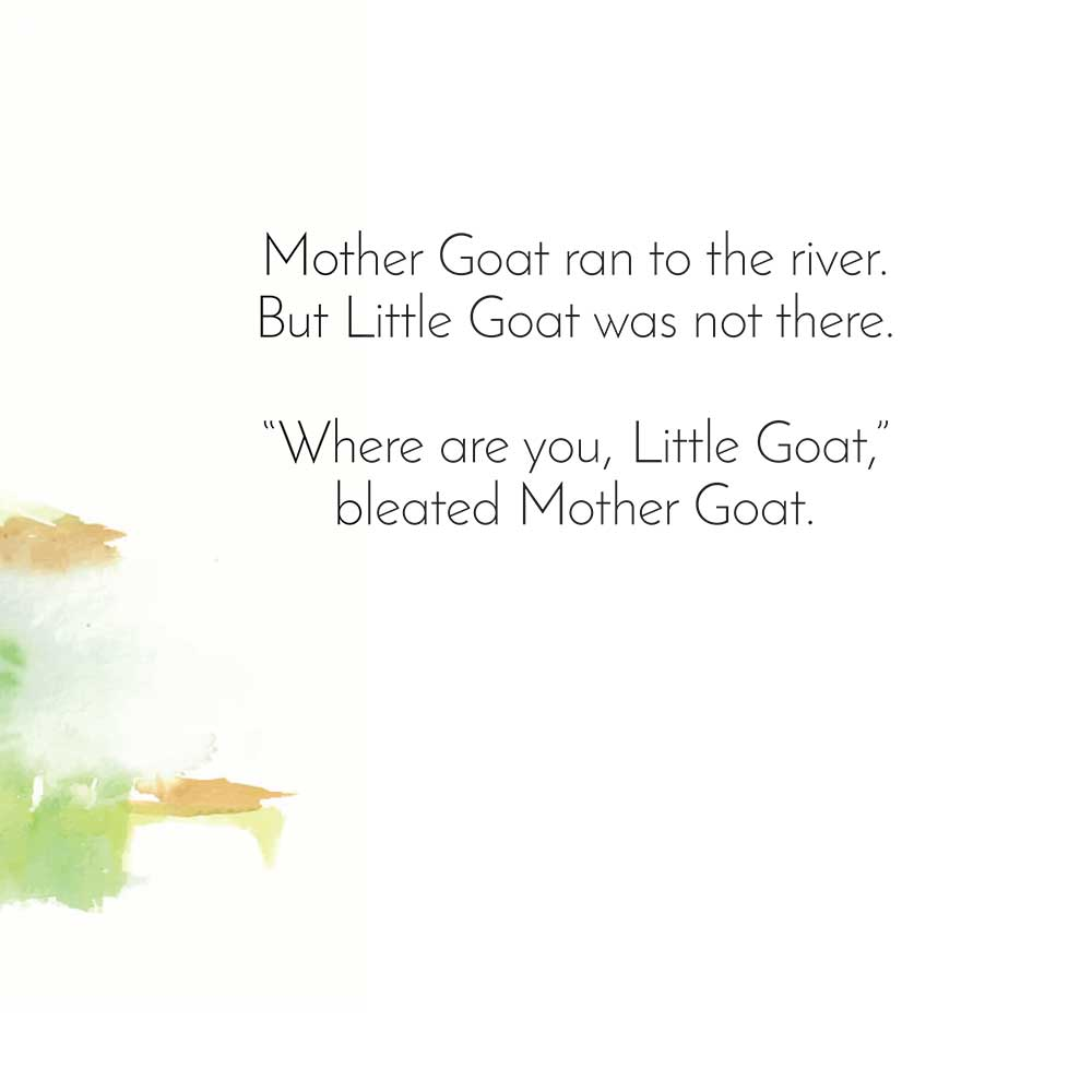 Free Bedtime Stories - Little Goat - page 17 illustration