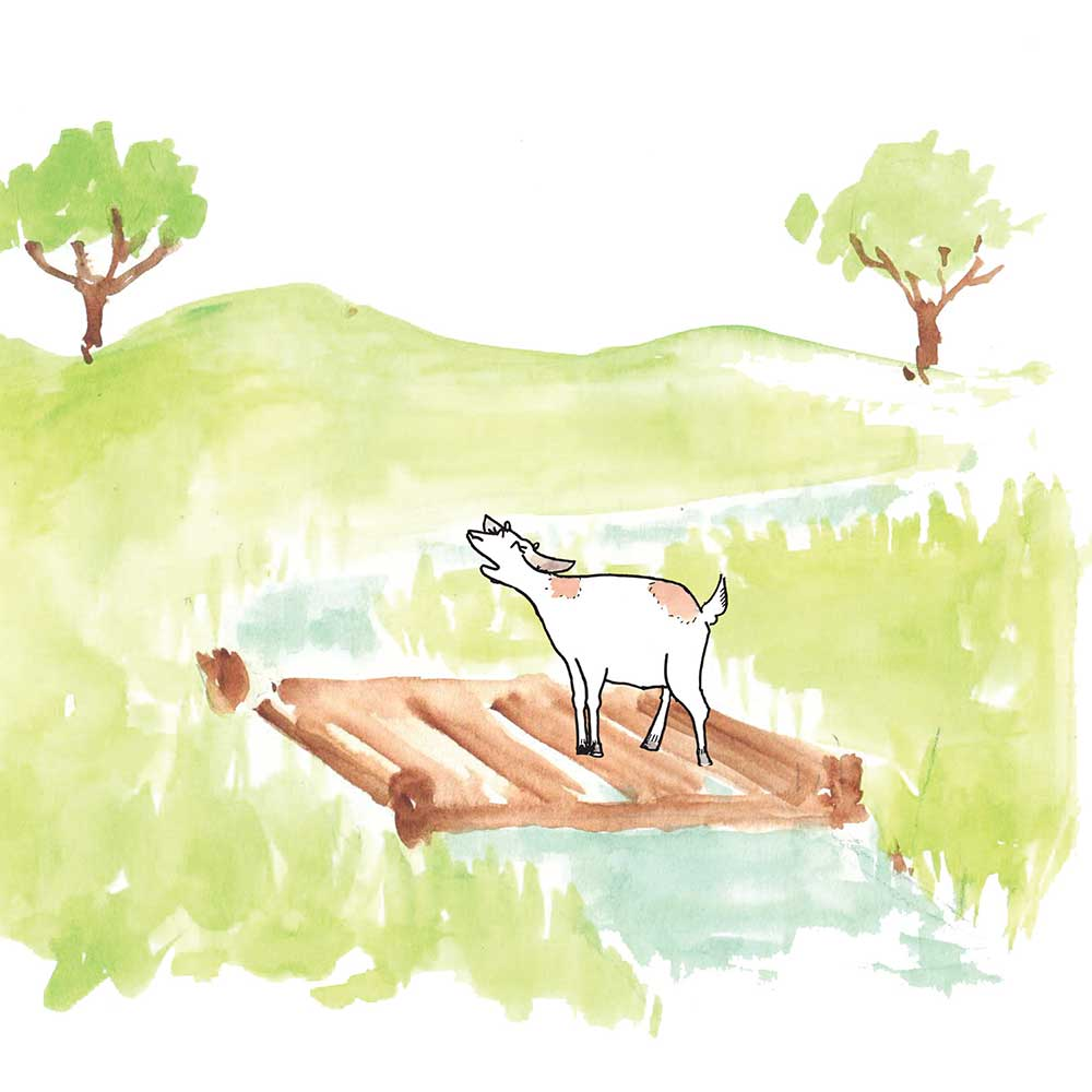Free Bedtime Stories - Little Goat - page 20 illustration