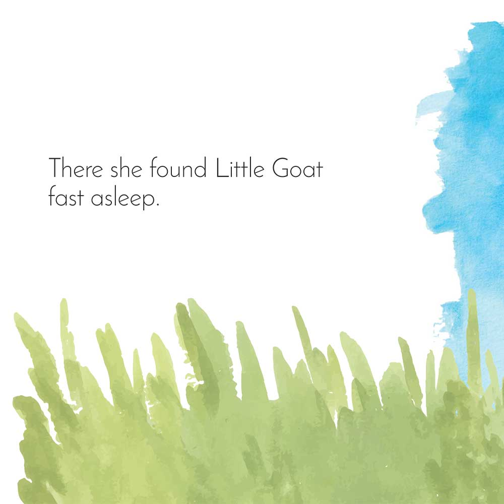 Free Bedtime Stories - Little Goat - page 22 illustration