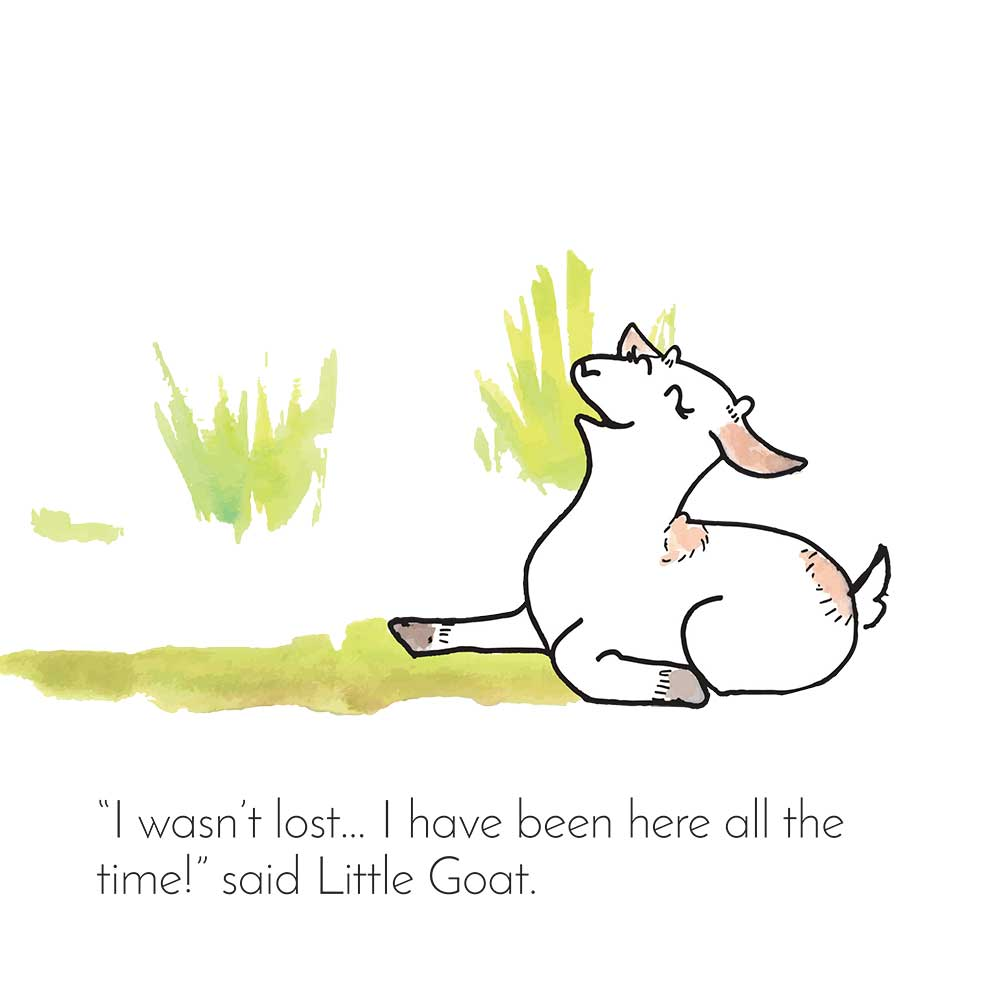 Free Bedtime Stories - Little Goat - page 25 illustration