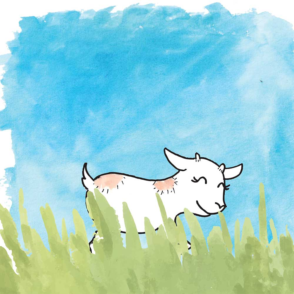 Free Bedtime Stories - Little Goat - page 3 illustration