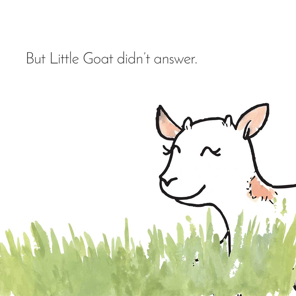 Free Bedtime Stories - Little Goat - page 6 illustration