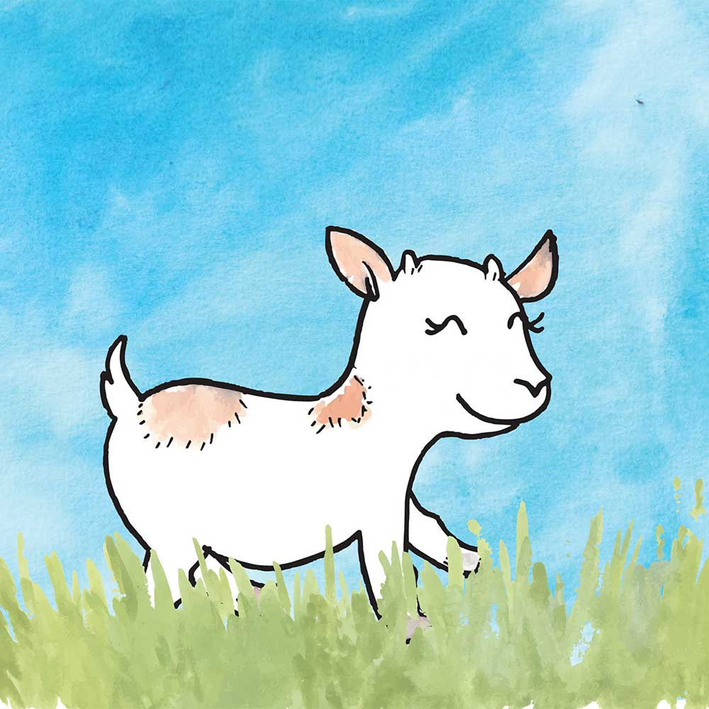 Free Bedtime Stories - Little Goat - page 8 illustration