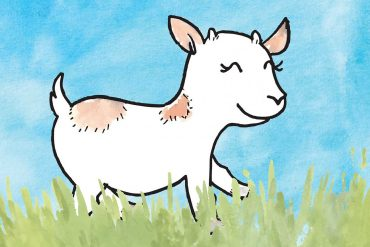 Free Bedtime Stories - Little Goat - page header illustration