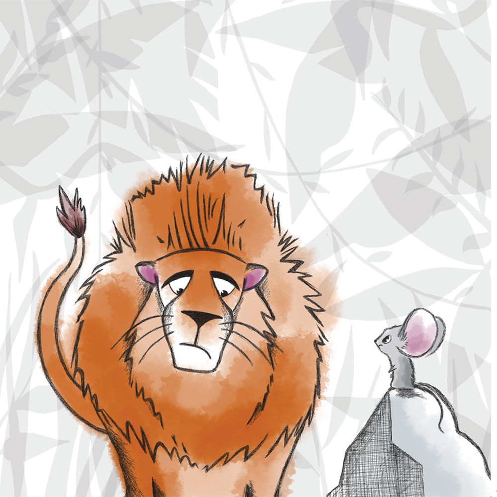 Free Bedtime Stories - The Lion Who Wouldn't Try - page 18 illustration