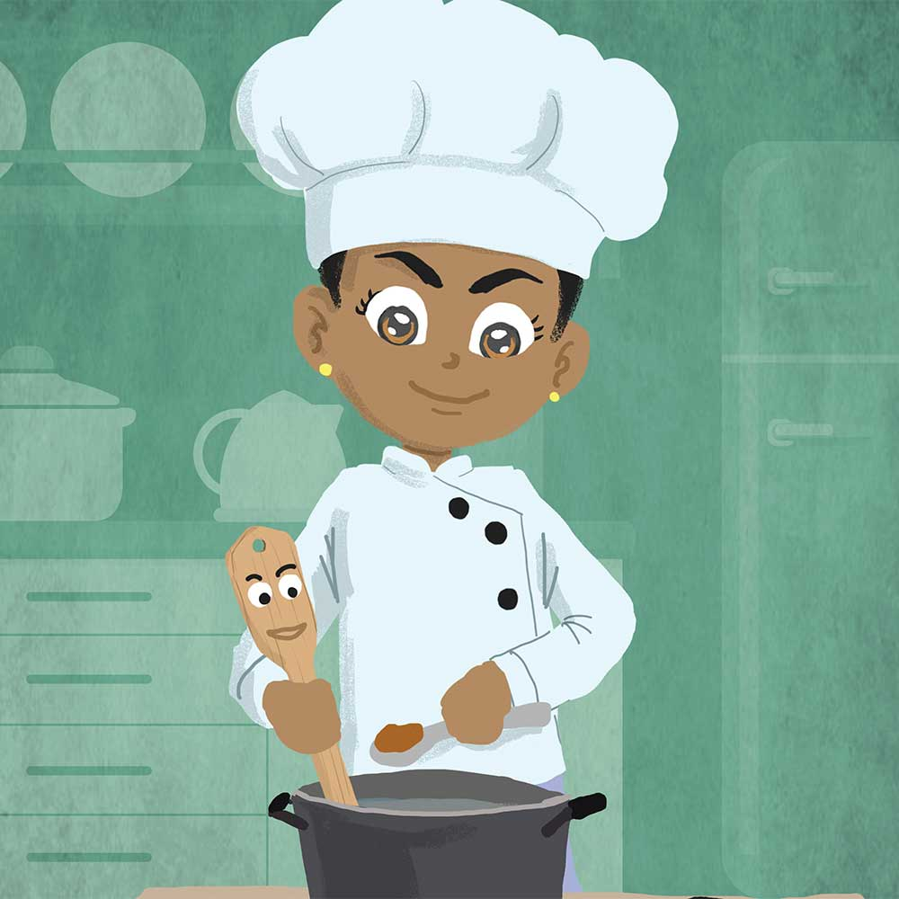 Miss Tiny Chef free bedtime story book - page 10