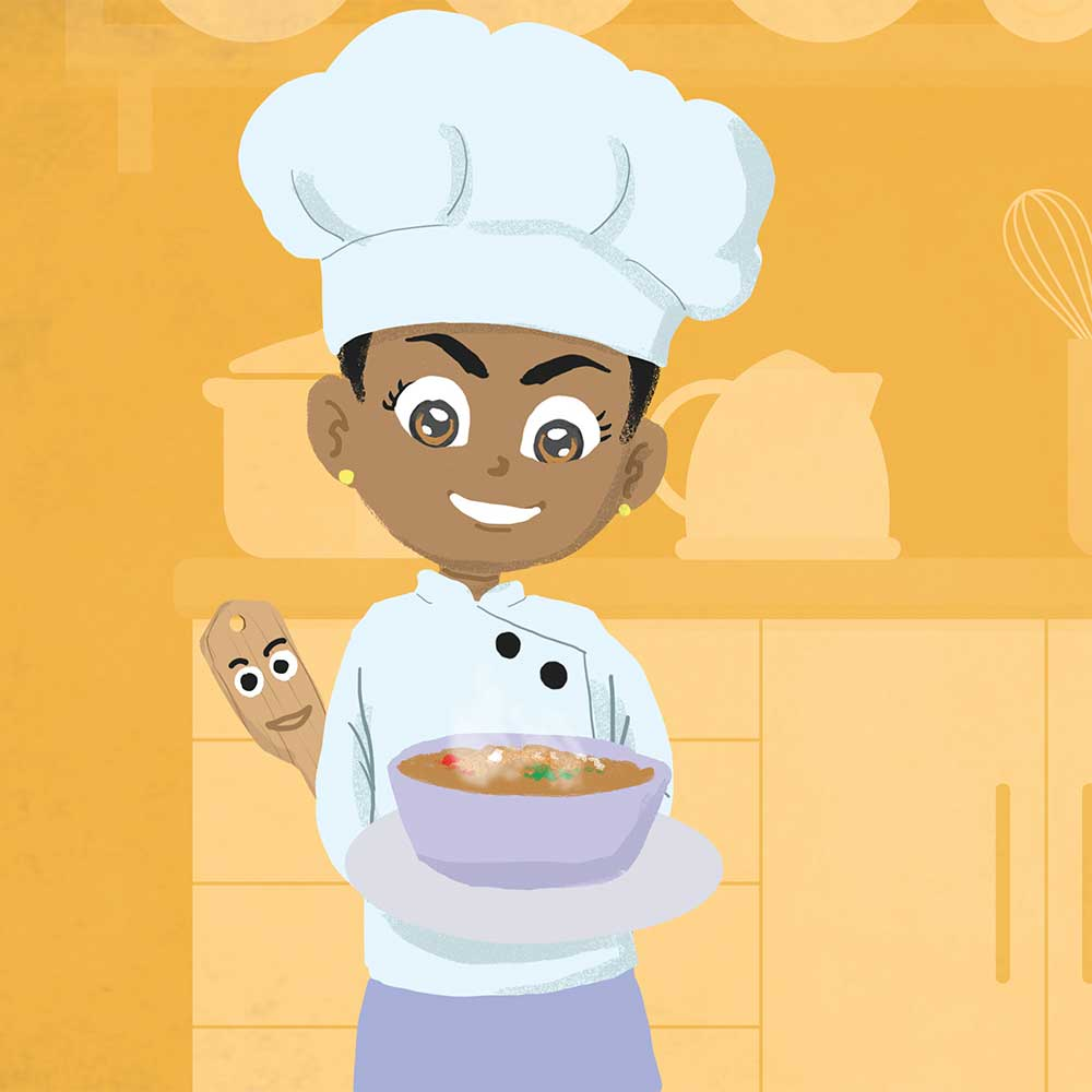 Miss Tiny Chef free bedtime story book - page 24