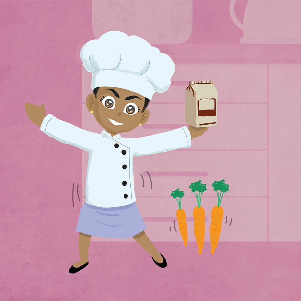 Miss Tiny Chef free bedtime story book - page 6