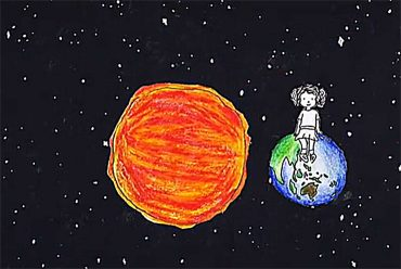Poems for kids - 'Birthday' - Motion Poem illustration