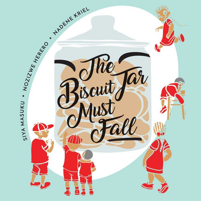 The Biscuit Jar Must Fall bedtime story Cover Illustration