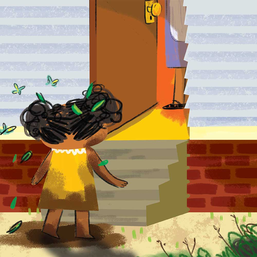 Unathi and the Dirty Smelly Beast: free story books and bedtime stories page 15