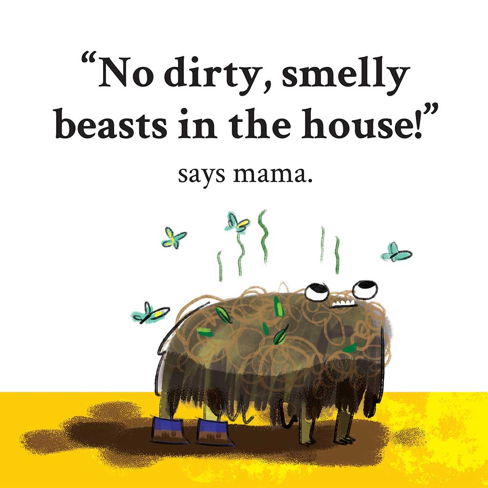 Unathi and the Dirty Smelly Beast: free story books and bedtime stories page 16