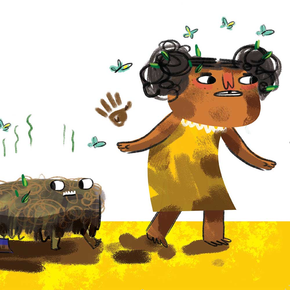 Unathi and the Dirty Smelly Beast: free story books and bedtime stories page 19