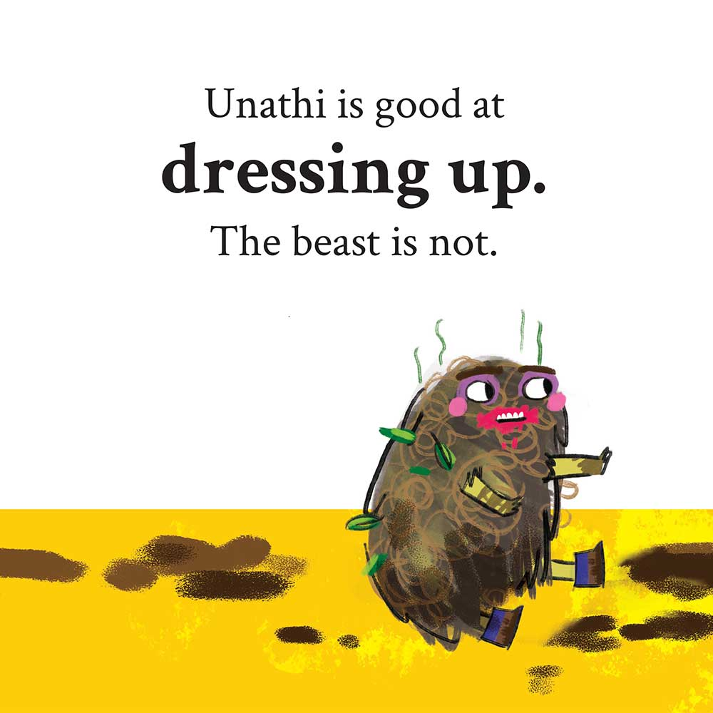 Unathi and the Dirty Smelly Beast: free story books and bedtime stories page 20