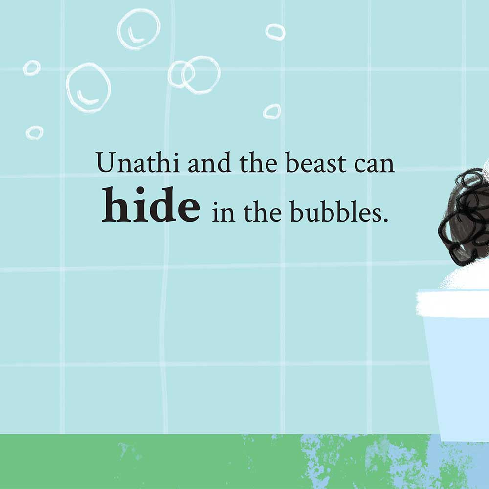 Unathi and the Dirty Smelly Beast: free story books and bedtime stories page 22
