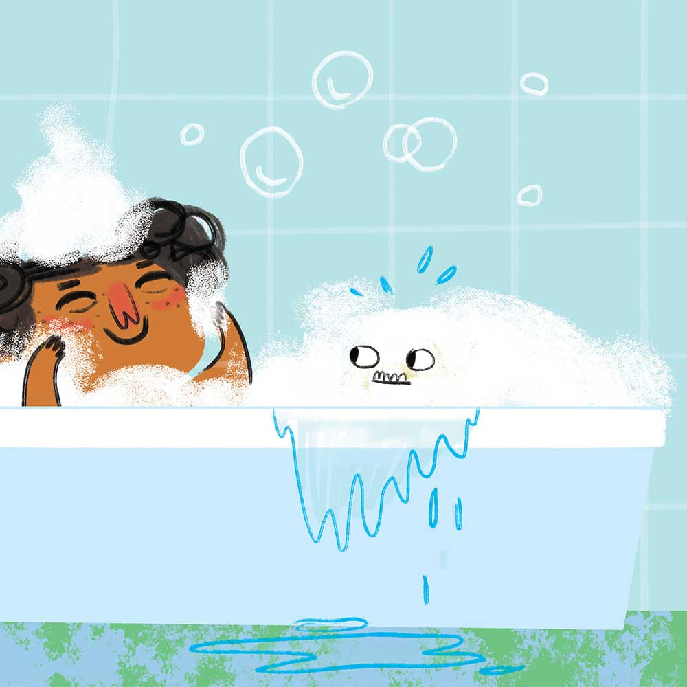 Unathi and the Dirty Smelly Beast: free story books and bedtime stories page 23