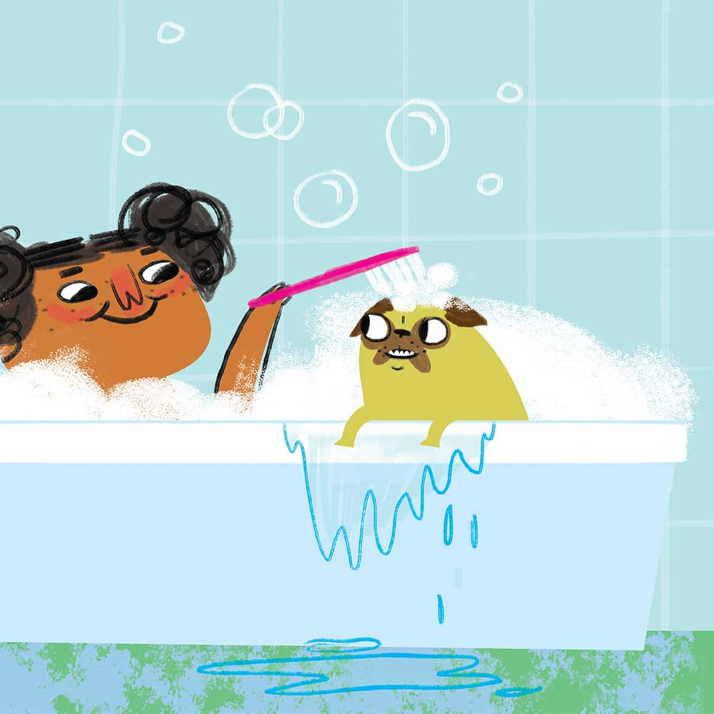 Unathi and the Dirty Smelly Beast: free story books and bedtime stories page 25