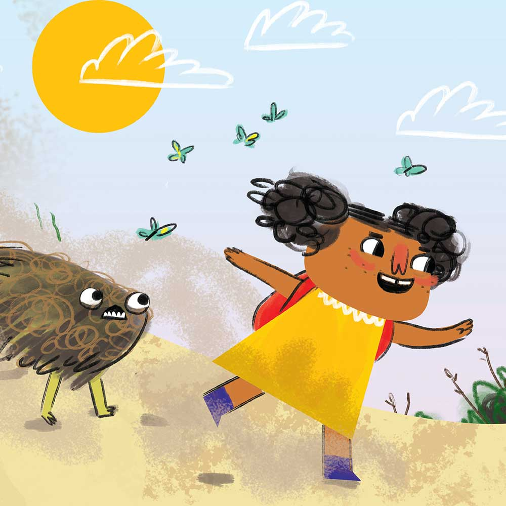Unathi and the Dirty Smelly Beast: free story books and bedtime stories page 7