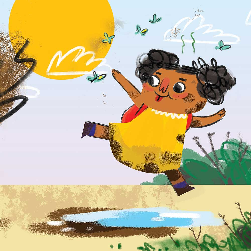 Unathi and the Dirty Smelly Beast: free story books and bedtime stories page 9