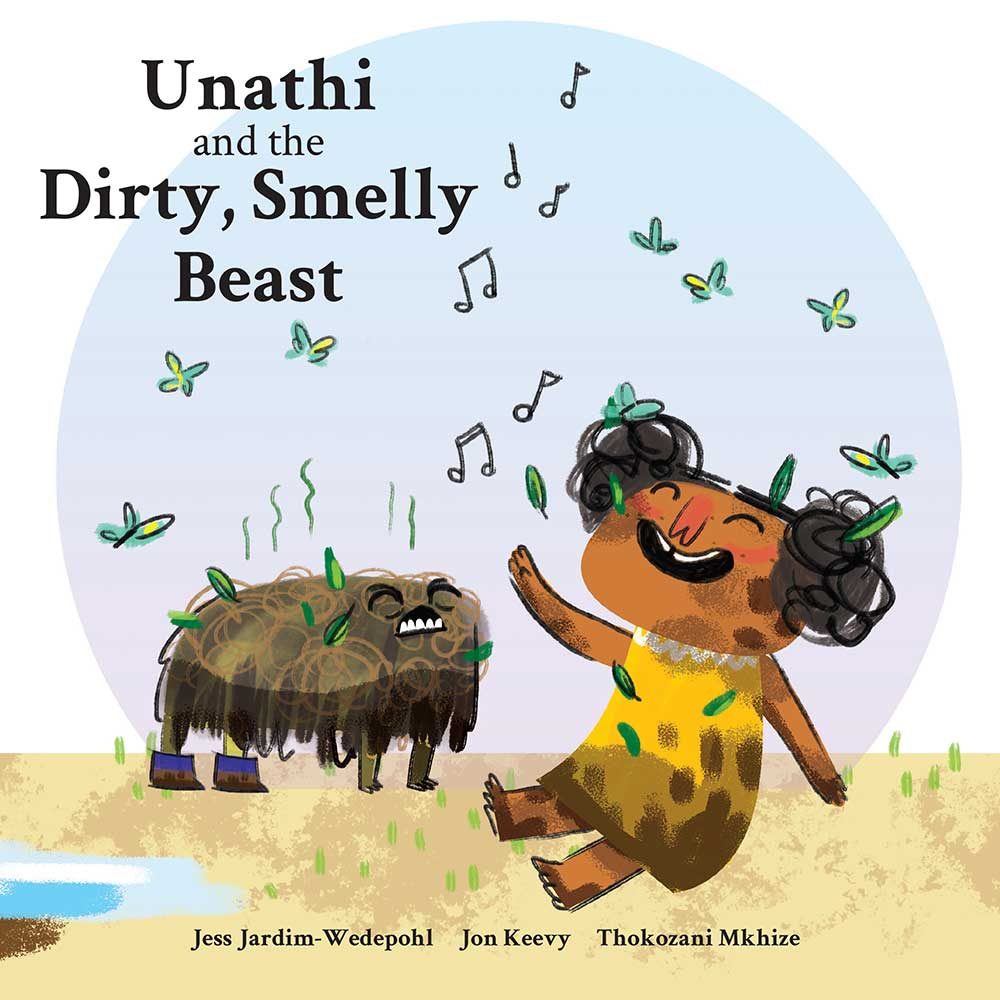 Unathi and the Dirty Smelly Beast: free story books and bedtime stories cover
