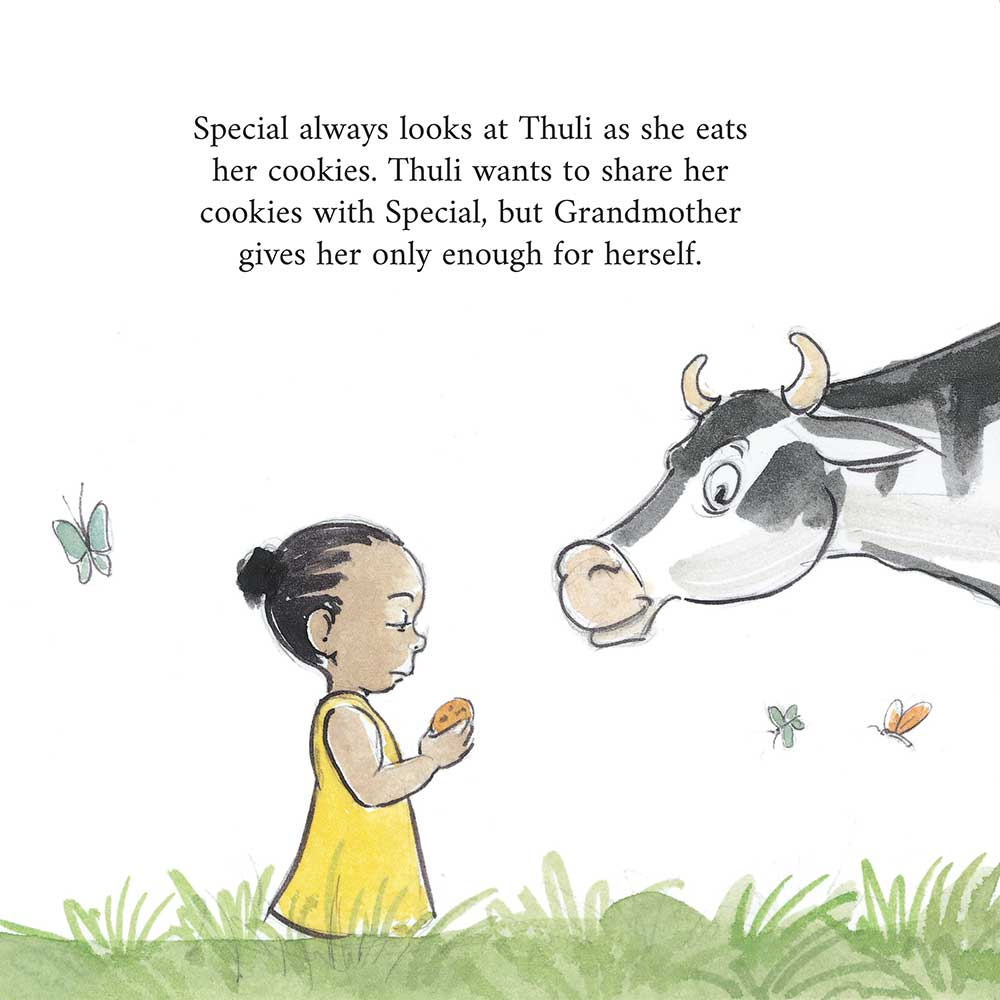 Thuli Special and the Secret - free picture books for kids - 11