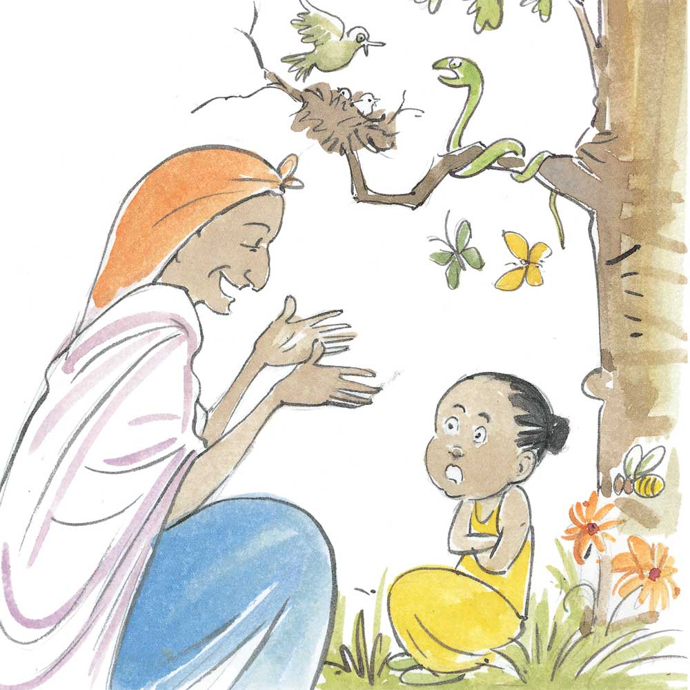 Thuli Special and the Secret - free picture books for kids - 7