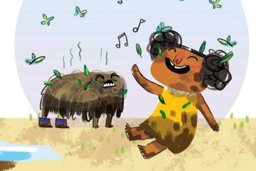 Unathi and the Dirty Smelly Beast: free story books and bedtime stories header