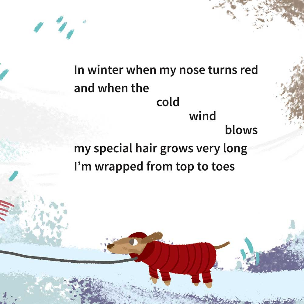 Free illustrated children's picture book My Special Hair - page 9