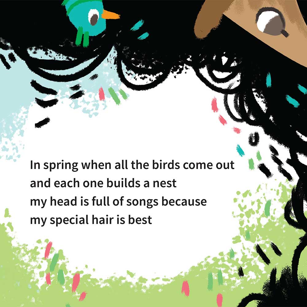 Free illustrated children's picture book My Special Hair - page 10