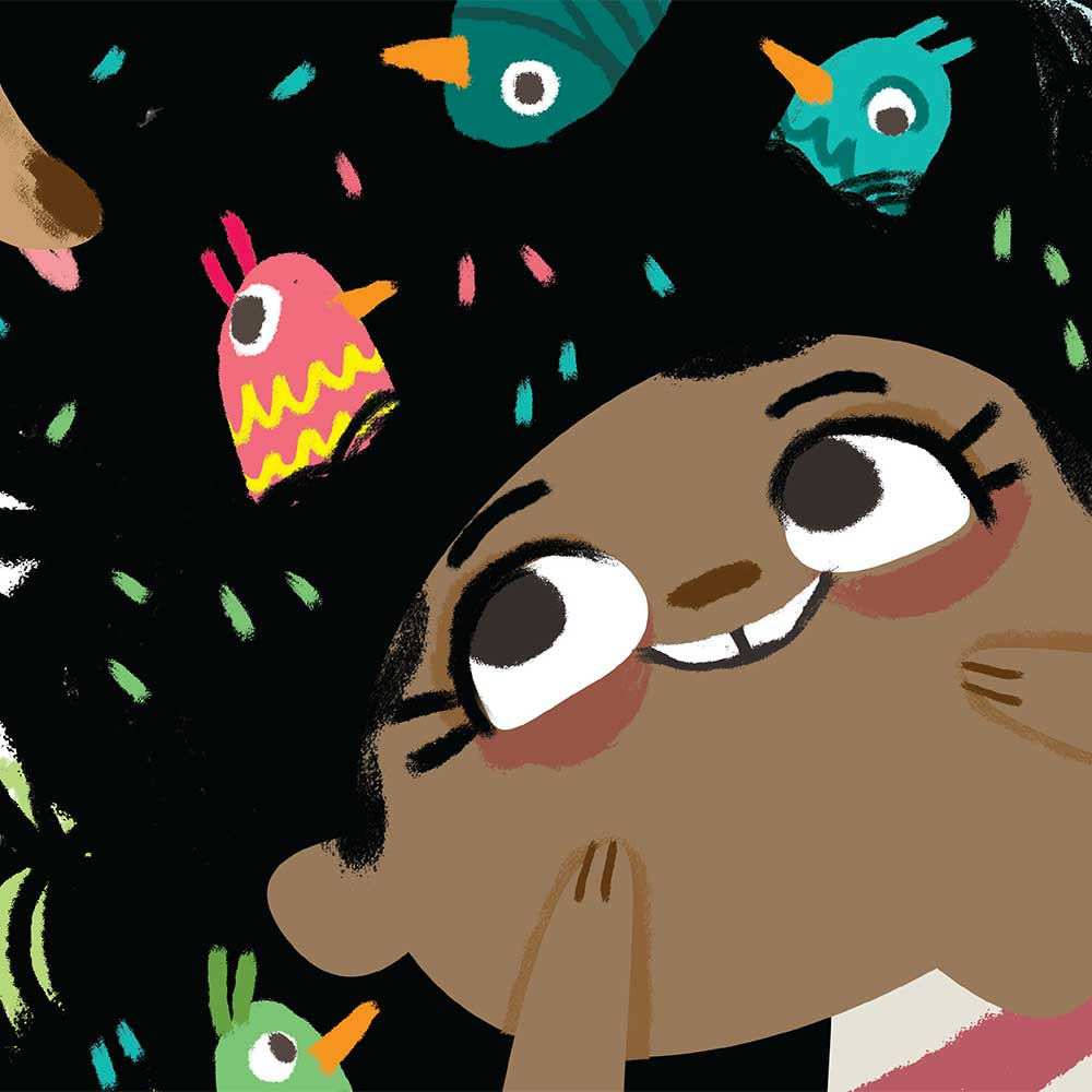 Free illustrated children's picture book My Special Hair - page 11