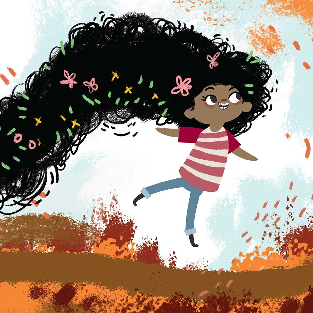 Free illustrated children's picture book My Special Hair - page 13