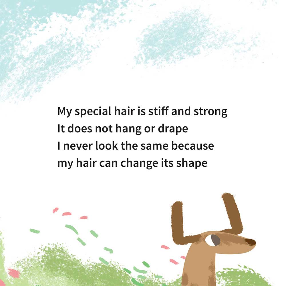 Free illustrated children's picture book My Special Hair - page 14