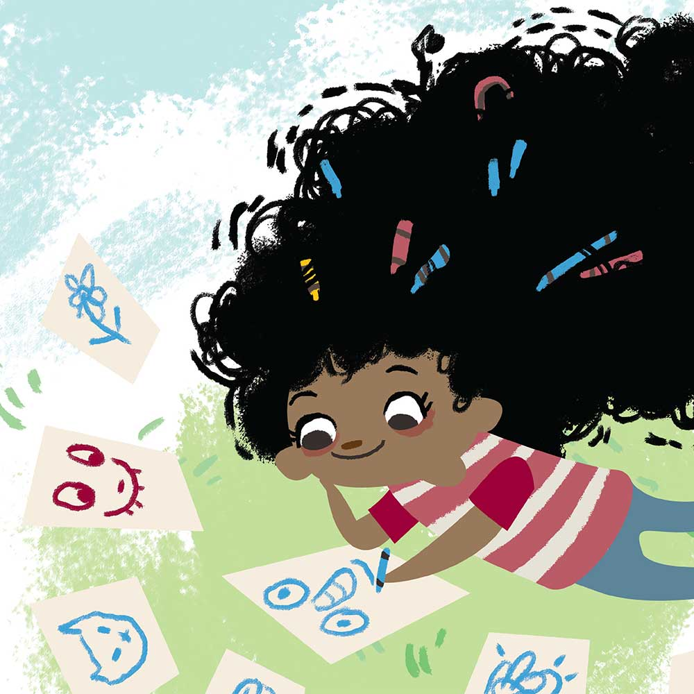 Free illustrated children's picture book My Special Hair - page 16