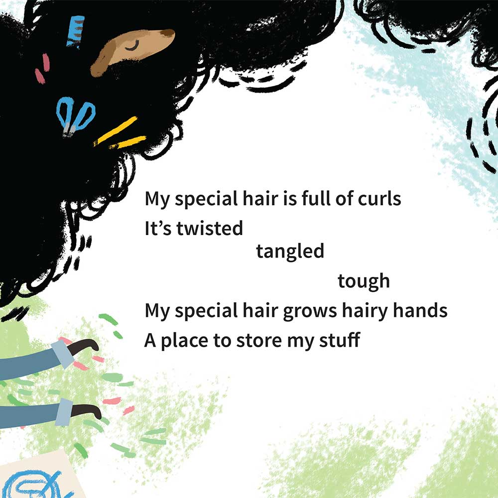 Free illustrated children's picture book My Special Hair - page 17