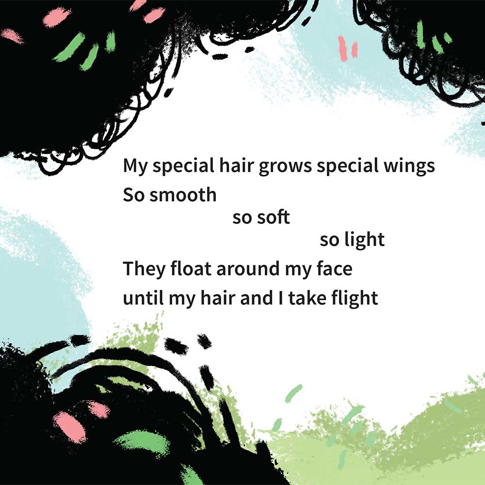 Free illustrated children's picture book My Special Hair - page 18