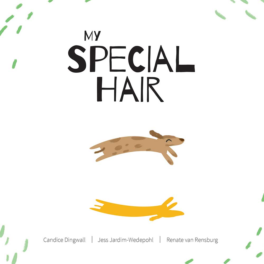 Free illustrated children's picture book My Special Hair - page 1