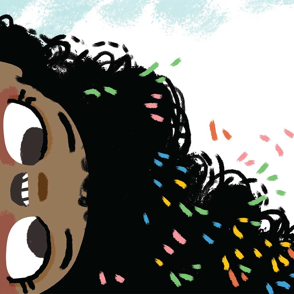 Free illustrated children's picture book My Special Hair - page 20