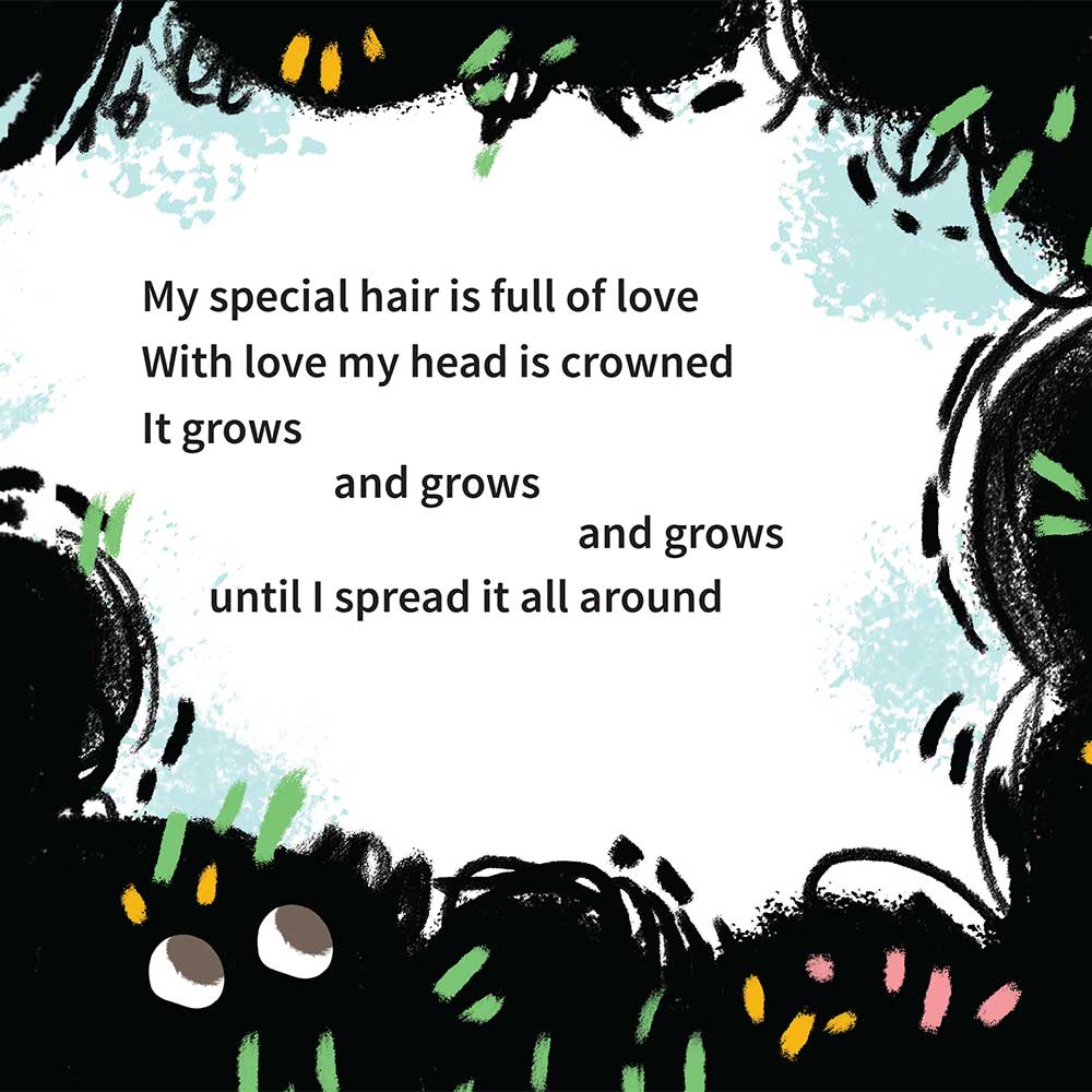 Free illustrated children's picture book My Special Hair - page 22