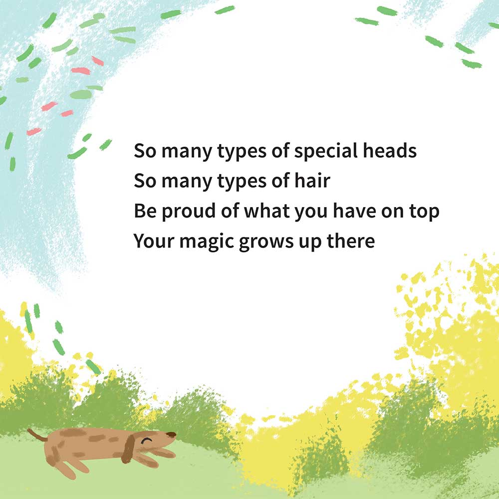 Free illustrated children's picture book My Special Hair - page 24