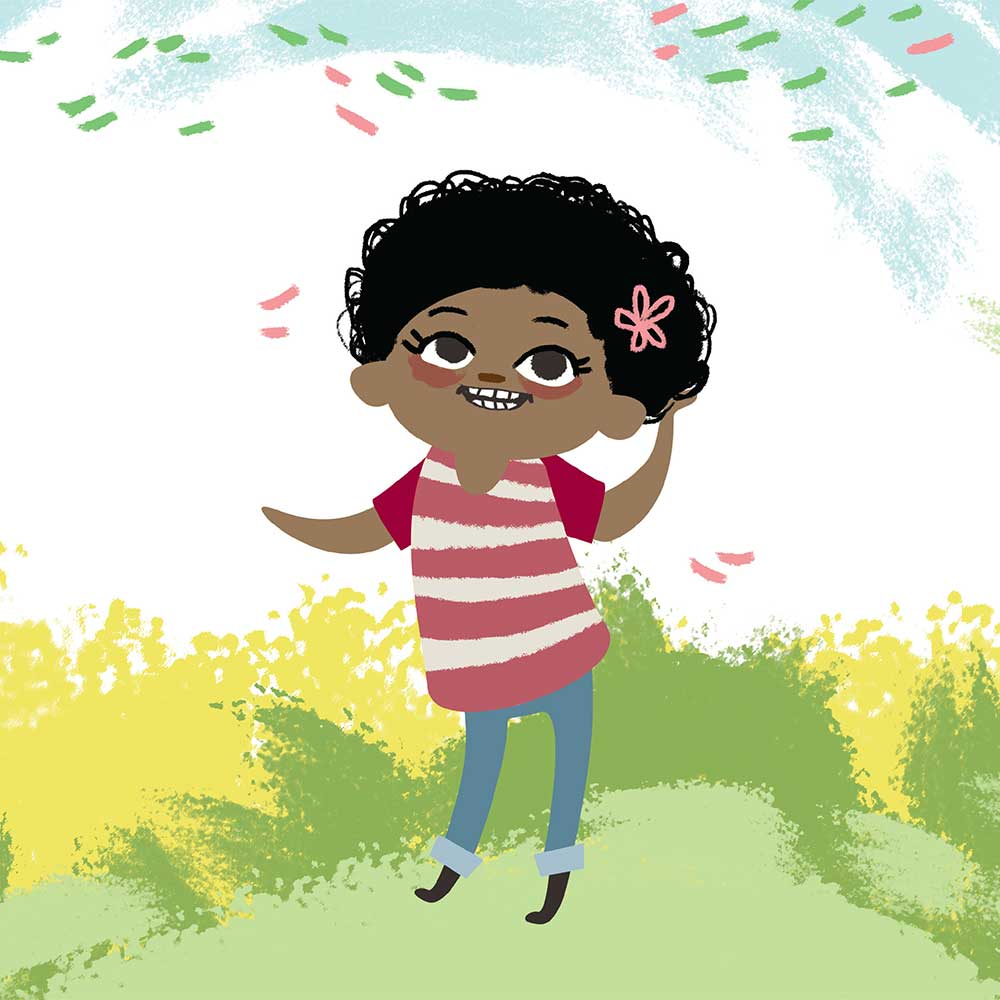 Free illustrated children's picture book My Special Hair - page 25