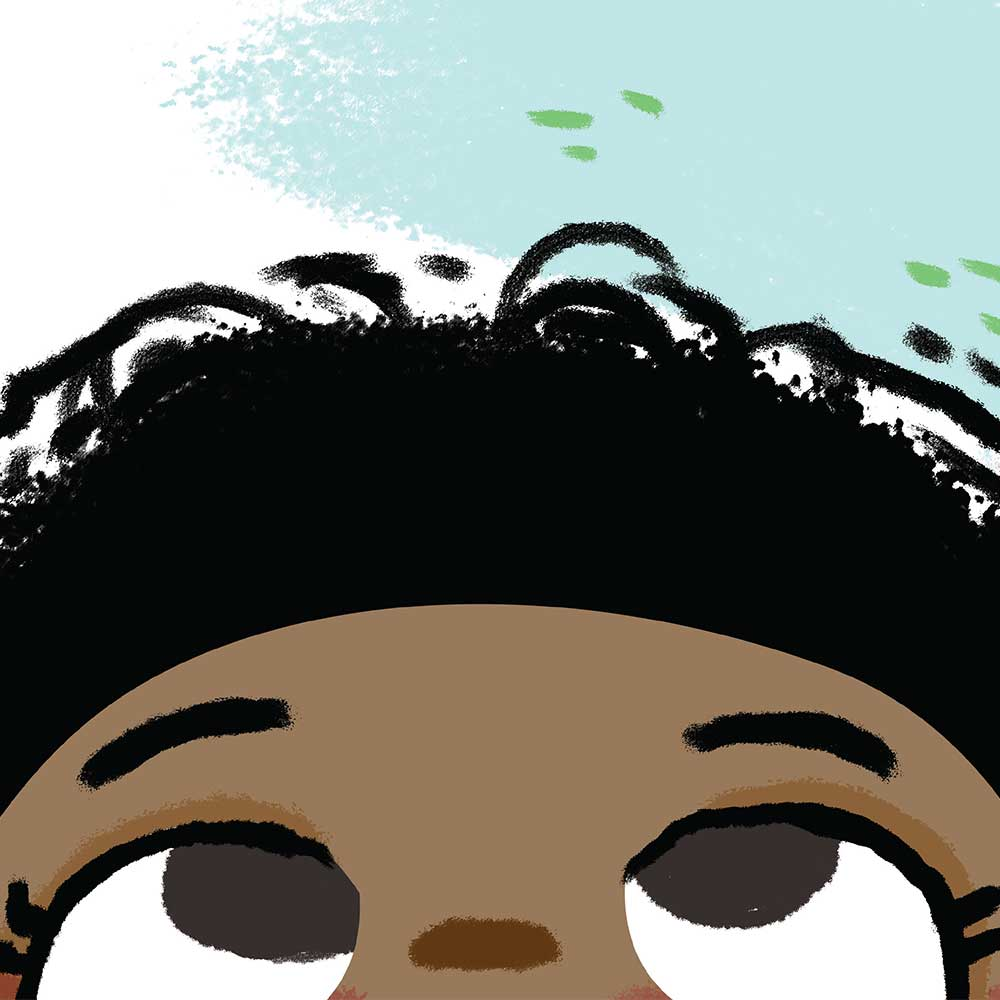 Free illustrated children's picture book My Special Hair - page 3