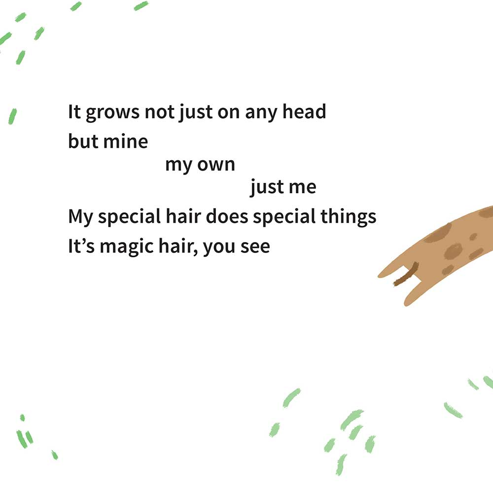 Free illustrated children's picture book My Special Hair - page 4