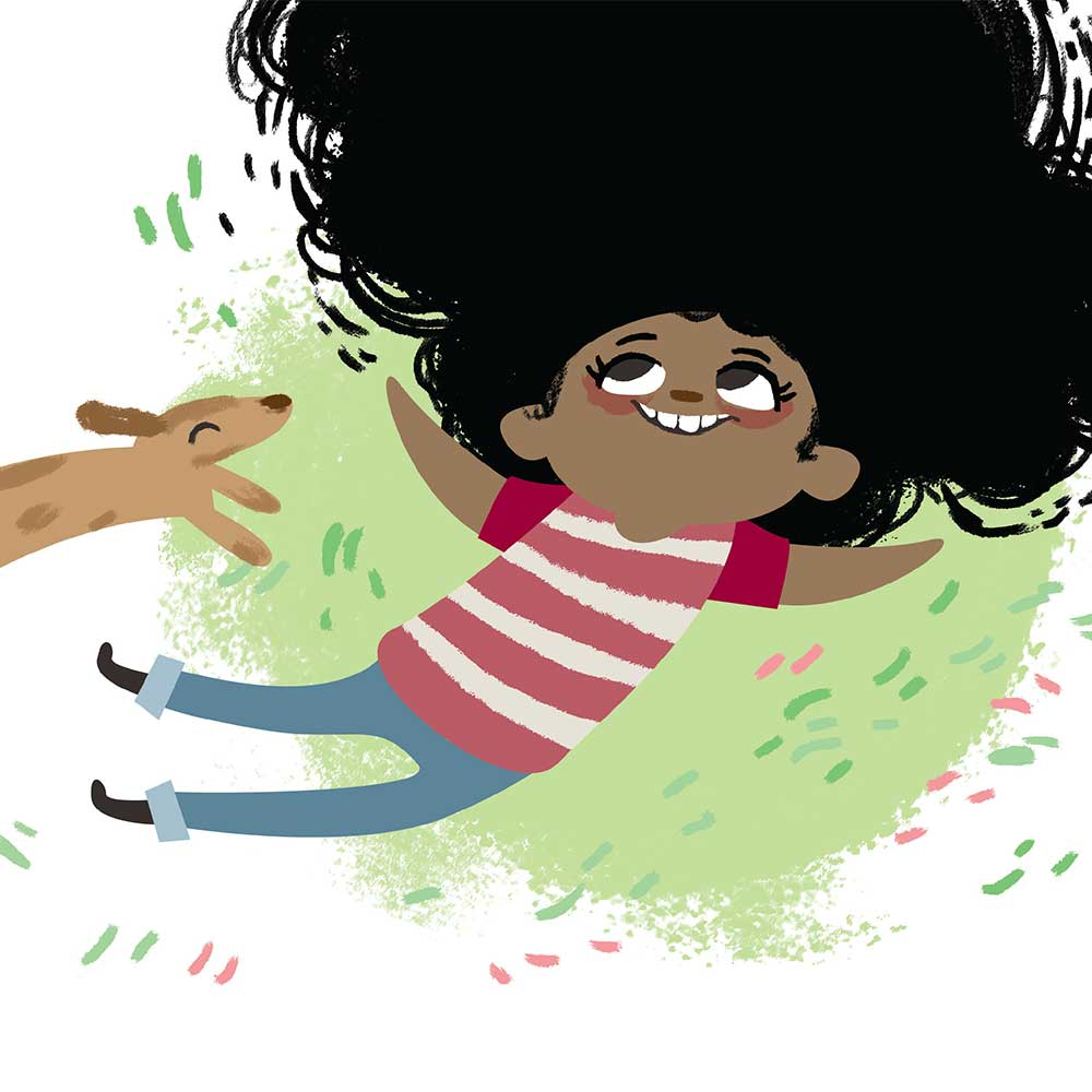Free illustrated children's picture book My Special Hair - page 5