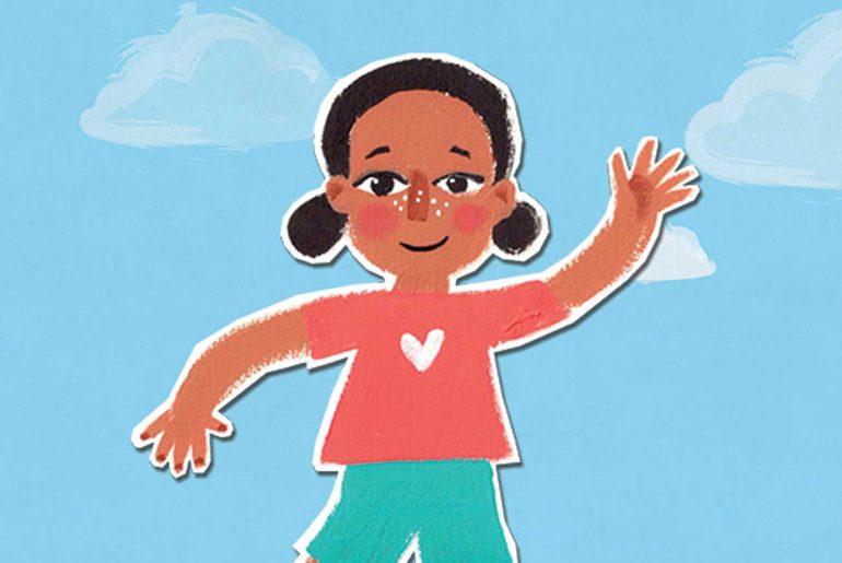 Hello Free kids picture book header illustration