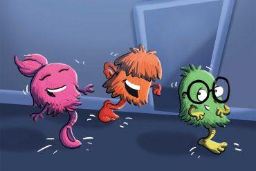 Kids Book Cover The Three Doof Doofs