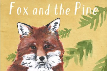 Kids bedtime story picture book Fox and the Pine header illustration