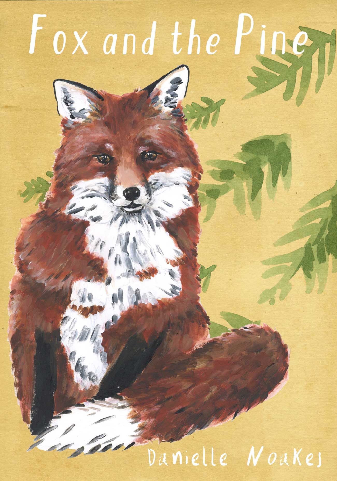Kids bedtime story picture book Fox and the Pine cover