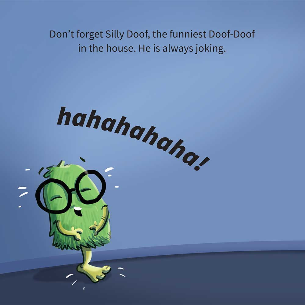 Free Kids Picture Book Online The Three Doof Doofs Page 17