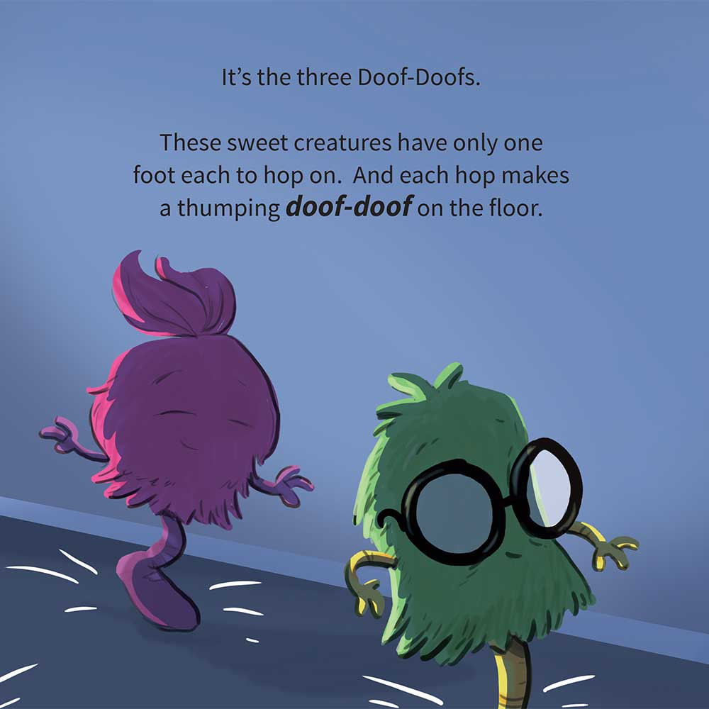 Free Kids Picture Book Online The Three Doof Doofs Page 8