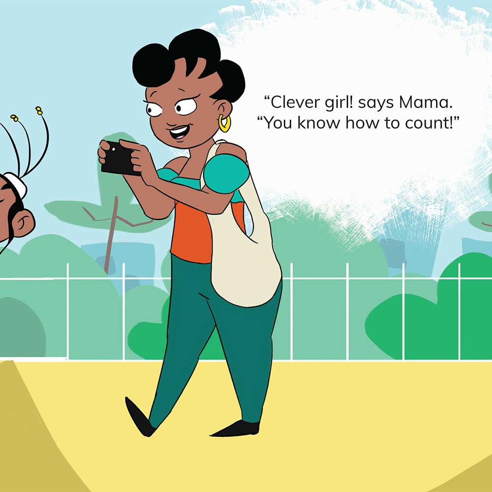 Free Kids 5 min story - Tumi Goes to the Park - page 11